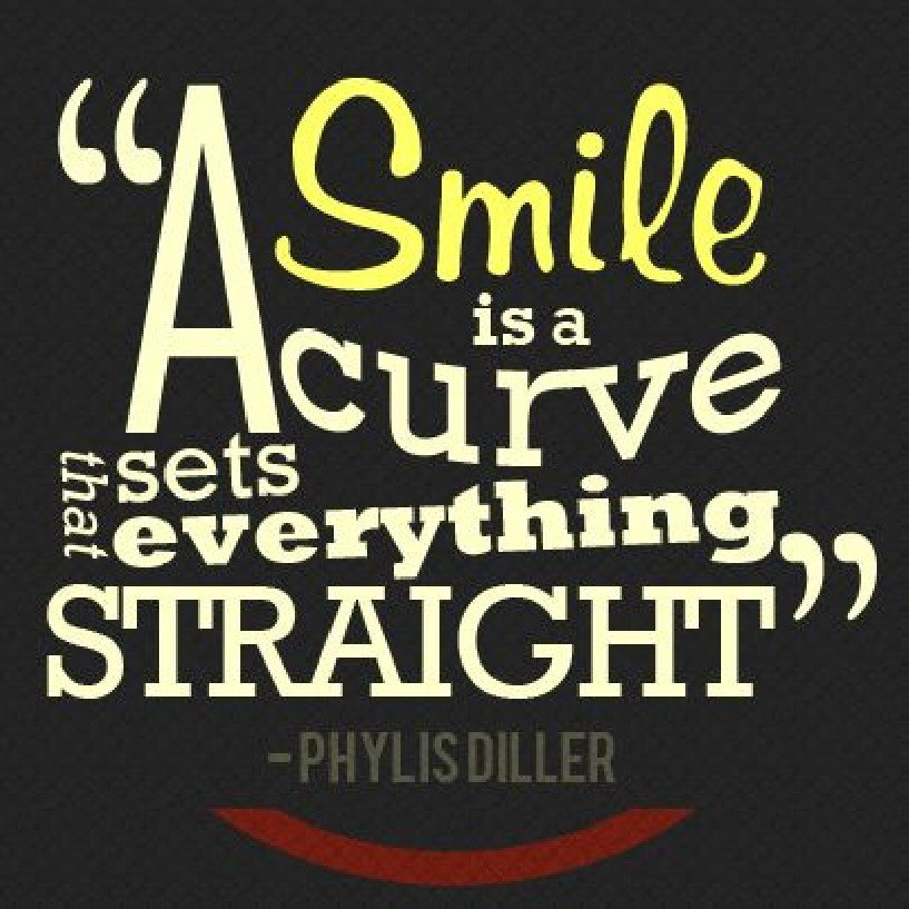 &quot;A smile is a curve that sets everything straight&quot;   #EnglishQuotes #HappyWednesday  #FelizMiercoles<br>http://pic.twitter.com/csvTKyCune