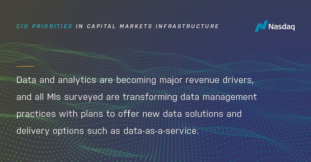 What key factors are driving changes in market infrastructure? Download our latest report on the #CIO Priorities in Capital Markets Infrastructure to find out: https://t.co/mdoaMN1I7H
