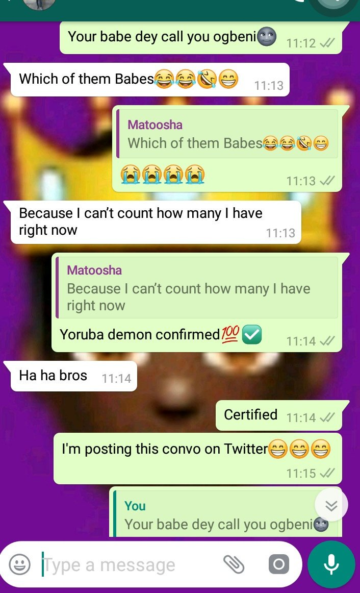 Yorubademon hashtag on twitter yorubademon hashtag on twitter publicscrutiny Choice Image