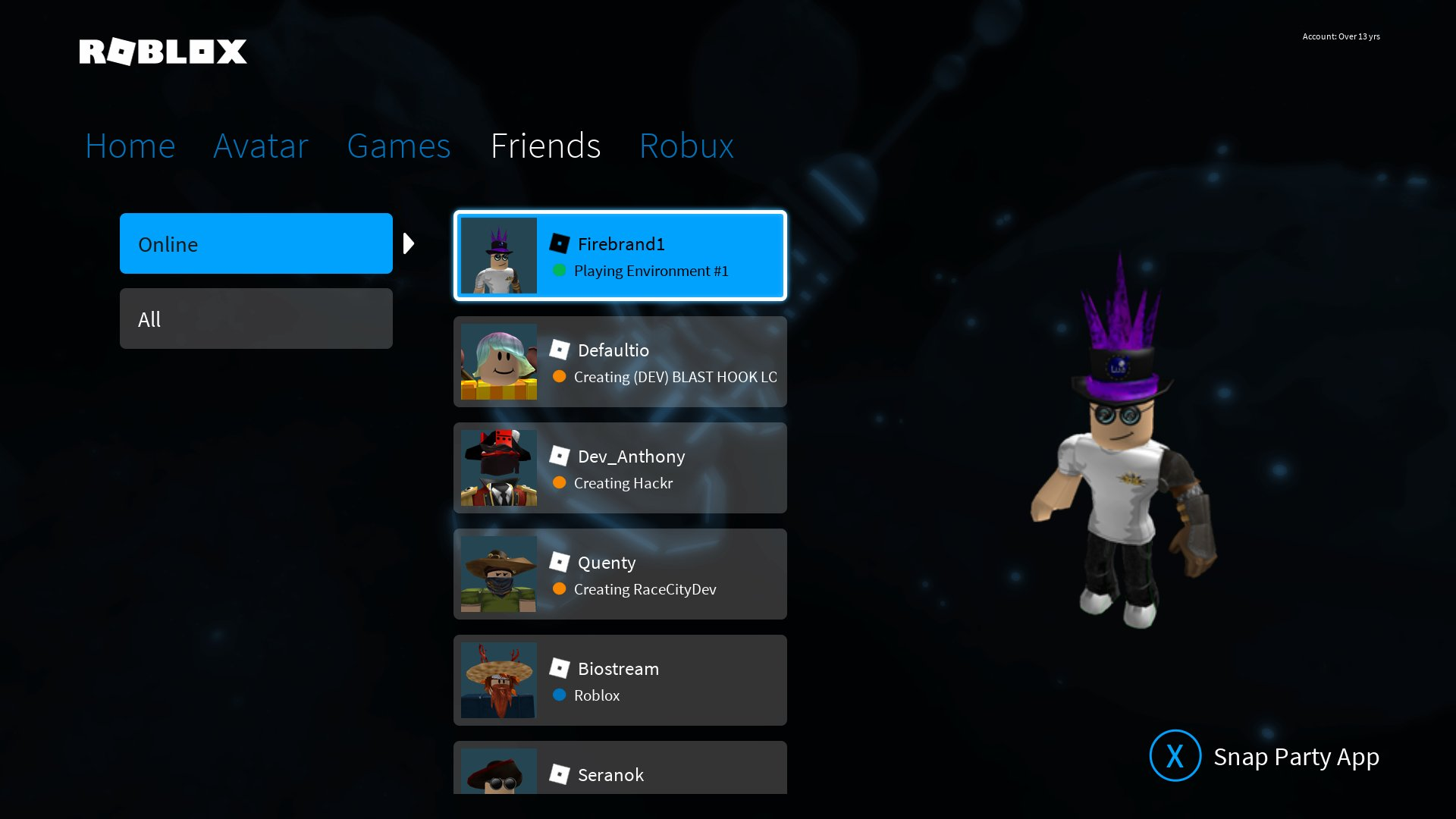 Roblox On Twitter Playing Roblox With Friends On Xbox One Just