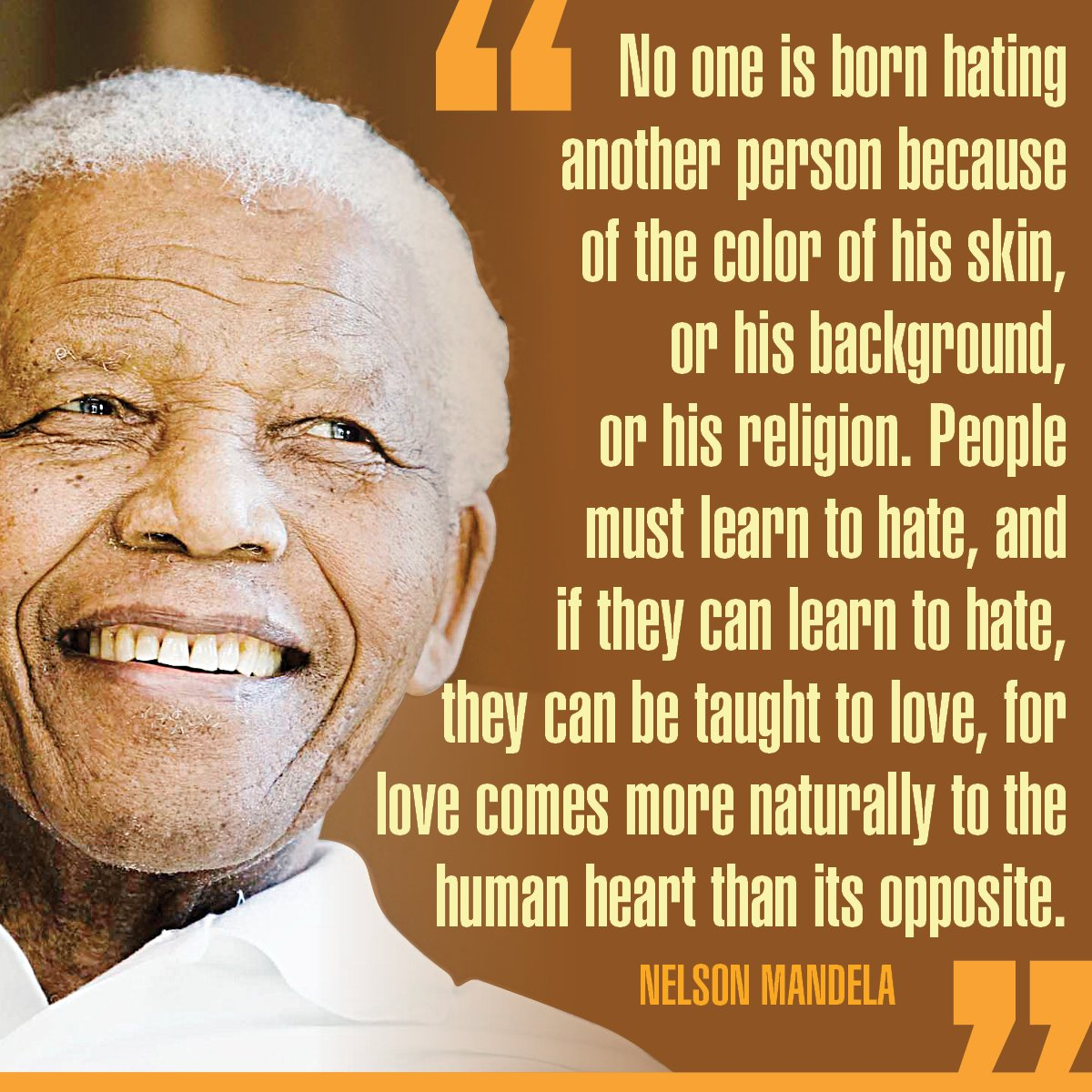 Happy 100th birthday, Nelson Mandela!   Remember the anti-apartheid hero's life in photos: https://t.co/9zu2fxfZyq https://t.co/zO2YlW5vo3