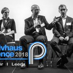 "Image for the Tweet beginning: UK Passivhaus Conference 2018: ""Passivhaus"