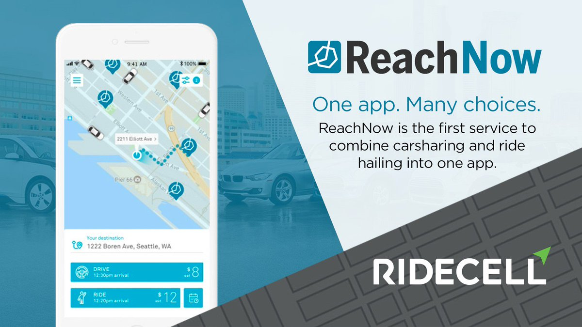Ridecell On Twitter Thrilled To Say Reachnow Is Using Our