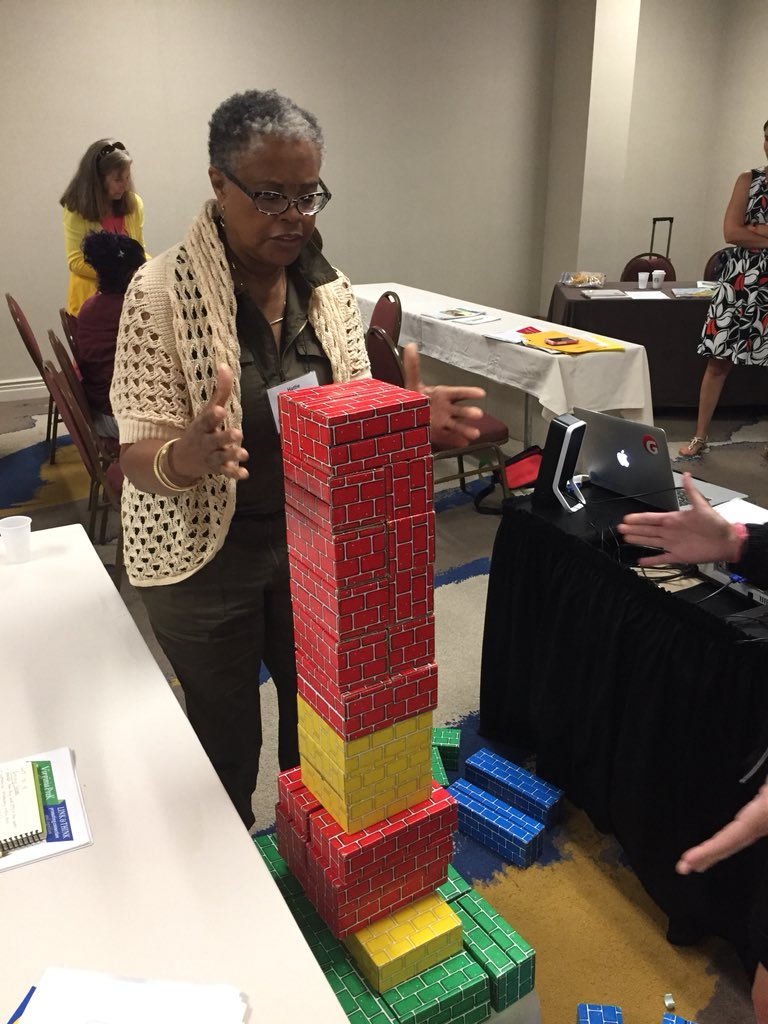 Problem solving and building skyscrapers at the VDOE Pre-K Teacher Institute! <a target='_blank' href='http://search.twitter.com/search?q=PreKinVA'><a target='_blank' href='https://twitter.com/hashtag/PreKinVA?src=hash'>#PreKinVA</a></a> <a target='_blank' href='http://search.twitter.com/search?q=APSisAwesome'><a target='_blank' href='https://twitter.com/hashtag/APSisAwesome?src=hash'>#APSisAwesome</a></a> <a target='_blank' href='http://twitter.com/HFBSTEM'>@HFBSTEM</a> <a target='_blank' href='http://twitter.com/HFBAllStars'>@HFBAllStars</a> <a target='_blank' href='http://twitter.com/APSVirginia'>@APSVirginia</a> <a target='_blank' href='https://t.co/JOmkWOlXIk'>https://t.co/JOmkWOlXIk</a>