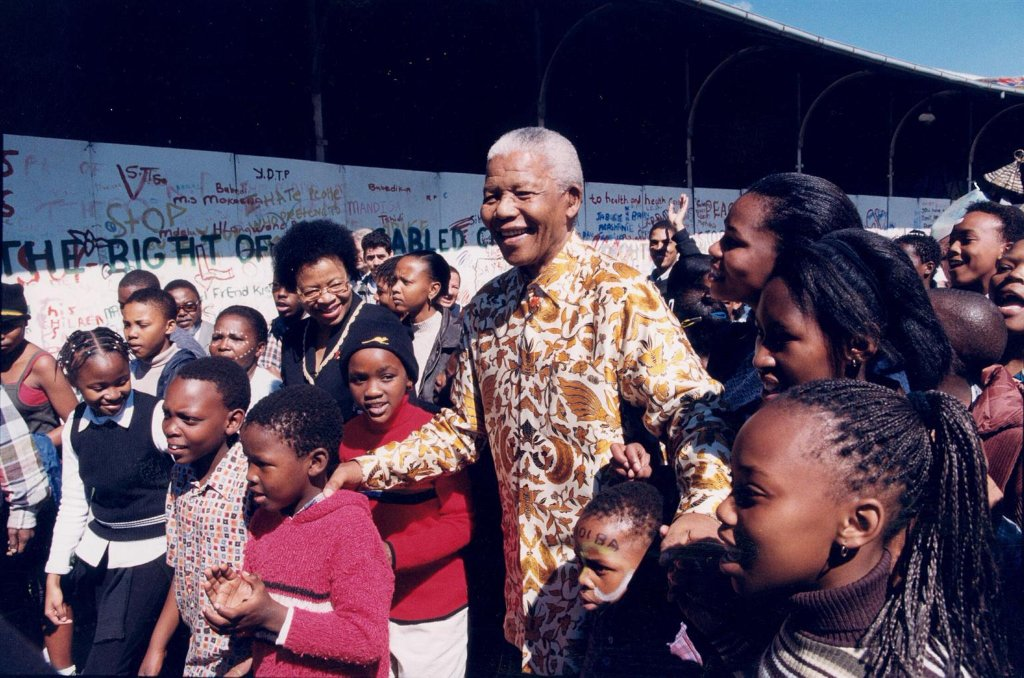 """Each of us, as citizens, have a role to play in creating a better world for our children."" – Nelson Mandela   Today, we celebrate the life and legacy of a true champion for children, who fought tirelessly to improve the lives of children around the world. #MandelaDay #Mandela100"
