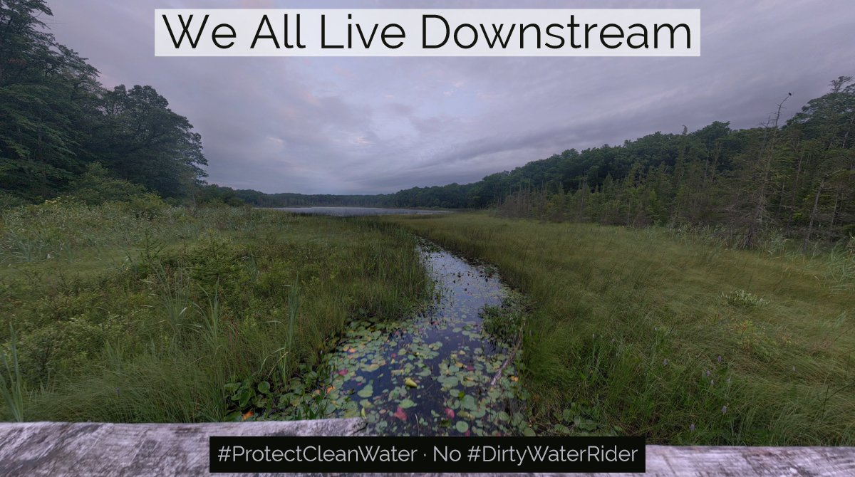 #PureMichigan tourism powers local economies and relies on access to clean water across our #GreatLakes.   The #DirtyWaterRider will put these companies at risk by repealing protections for streams, wetlands, and drinking water.  #protectcleanwater<br>http://pic.twitter.com/XiL5MPTPkt
