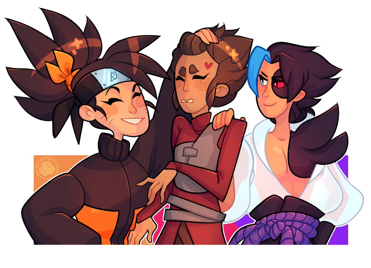 "Ro on Twitter: ""#Leagueoflegends #ArtofLegends #naruto #Akali #Kayn  #Taliyah Anime kids… """