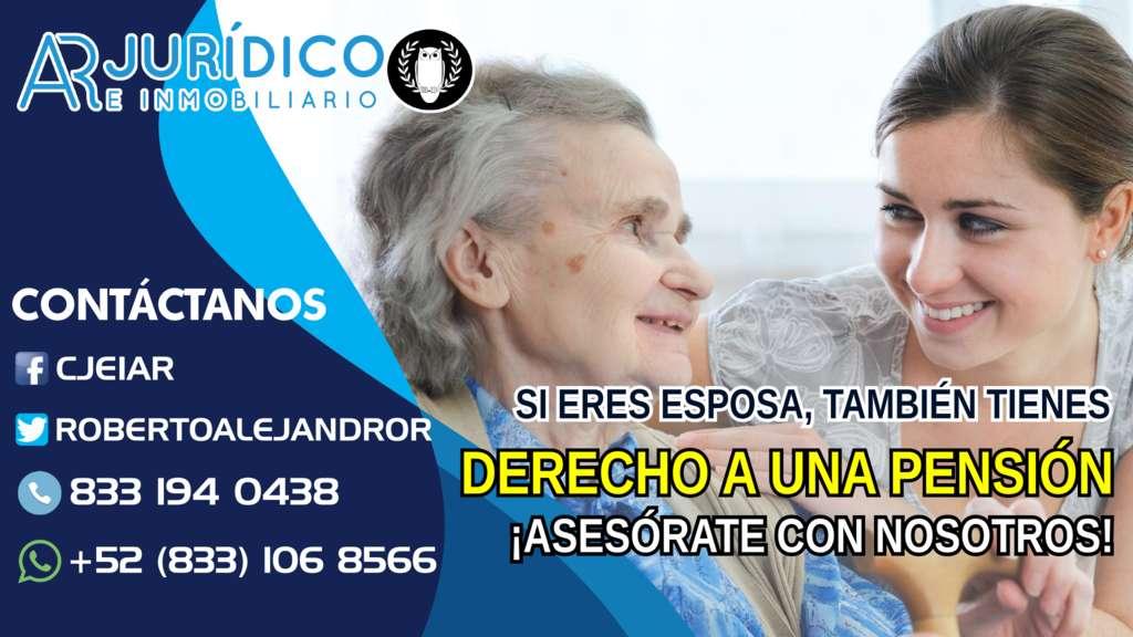 Si eres esposa, tienes derecho a una pensión! Asesorate con nosotros!  #altamira ❃