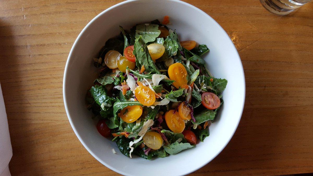 @creedcreol #foodie Kale Salad, tossed in creed slaw https://t.co/x1lkZ5ZTgb
