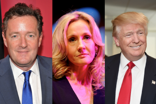 JK Rowling s 13 Snarkiest messages: From Trump Burns to Fan Clapback (Photos)