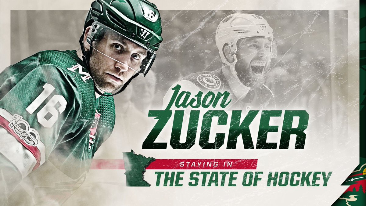 Jason Zucker On Twitter We Are Thrilled To Be Staying In