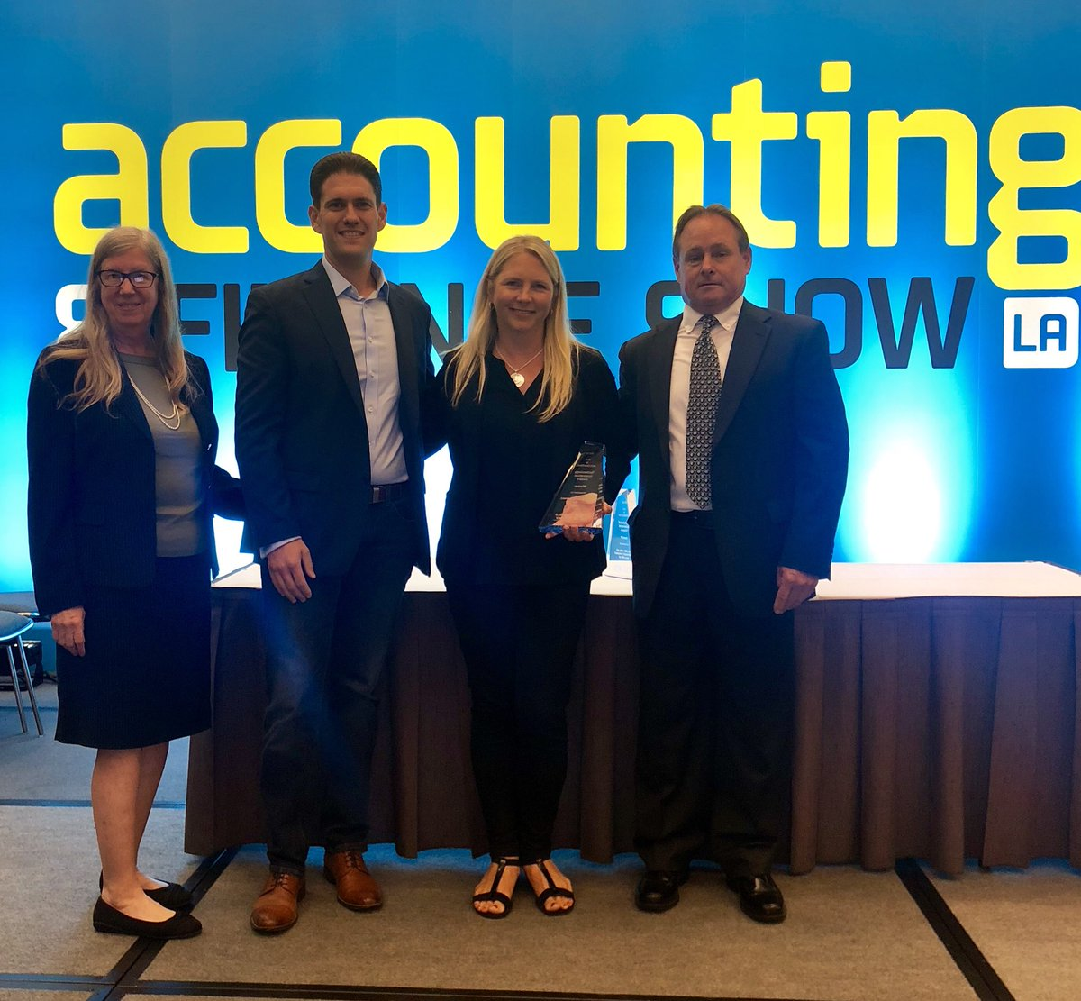 2018 CPA Practice Advisor Technology Innovation Award Winner! Honored to be the recipient for the 2nd year in a row! #AccountantConnect #ADP #AccountingShowLA #backtoback