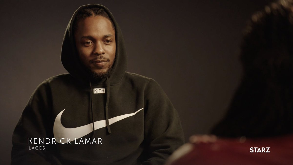 .@CourtneyKemp sat down with @kendricklamar to discuss what brought him to #PowerTV and how he connected to his character Laces. Watch the full interview here: http://starz.tv/KendrickLamarPower …