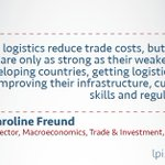 Image for the Tweet beginning: #Logistics are the backbone of