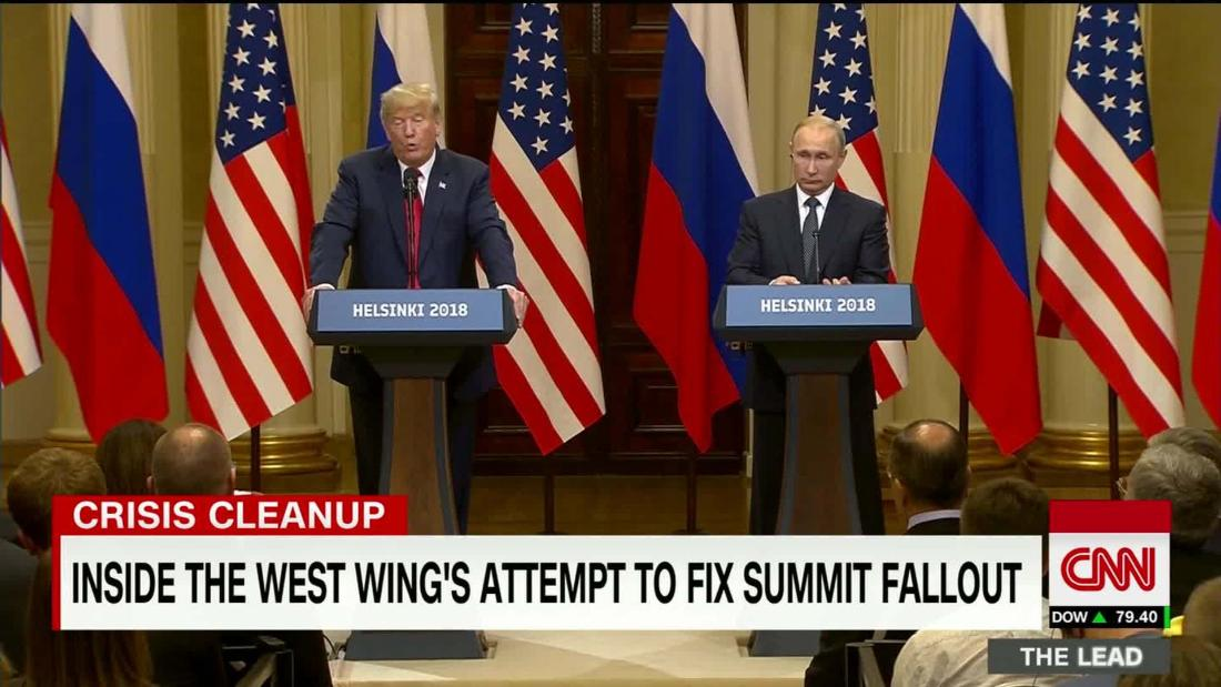 Inside the West Wing's attempt to fix the summit fallout https://t.co/RocKD0KYZw @jaketapper reports @TheLeadCNN