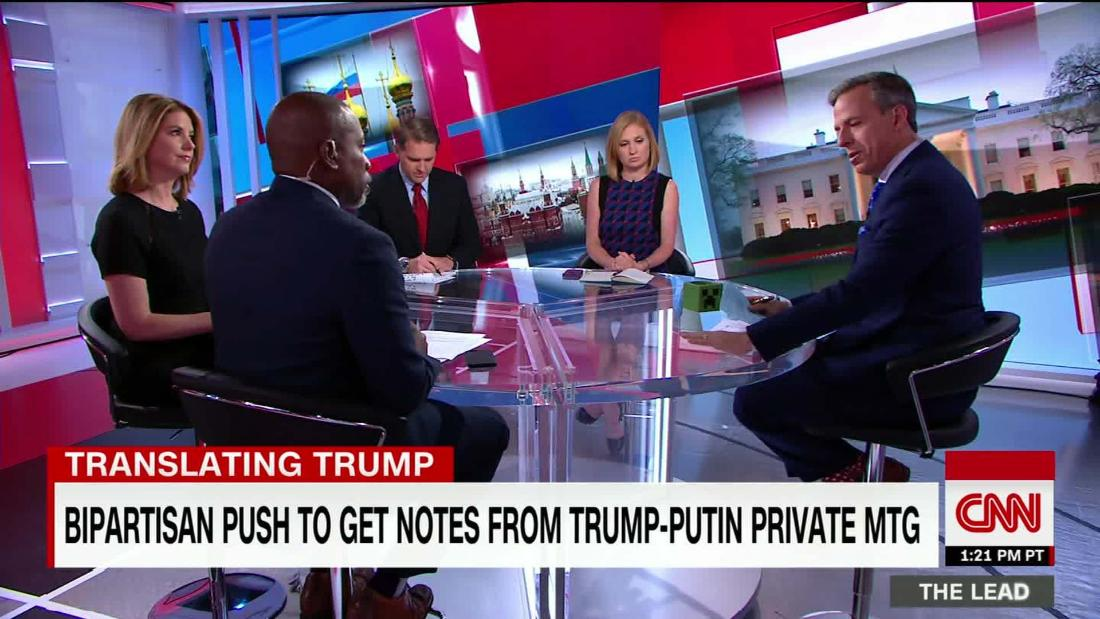 Former Obama intel official: don't force Trump interpreter to testify https://t.co/XUYF4pvgMt @KirstenPowers @ScottJenningsKY @JFKucinich Shawn Turner discuss @TheLeadCNN