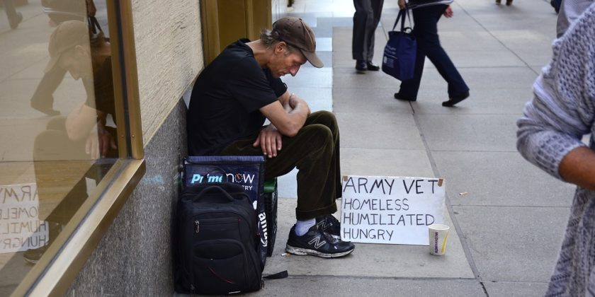 Trumps military parade will cost an estimated $12,000,000. How many homeless veterans could that money help?