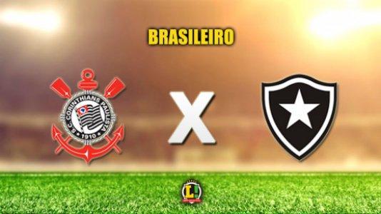 AO VIVO! Acompanhe a partida entre Corinthians e Botafogo pelo Campeonato Brasileiro!  https://t.co/oUxVWKPGPz