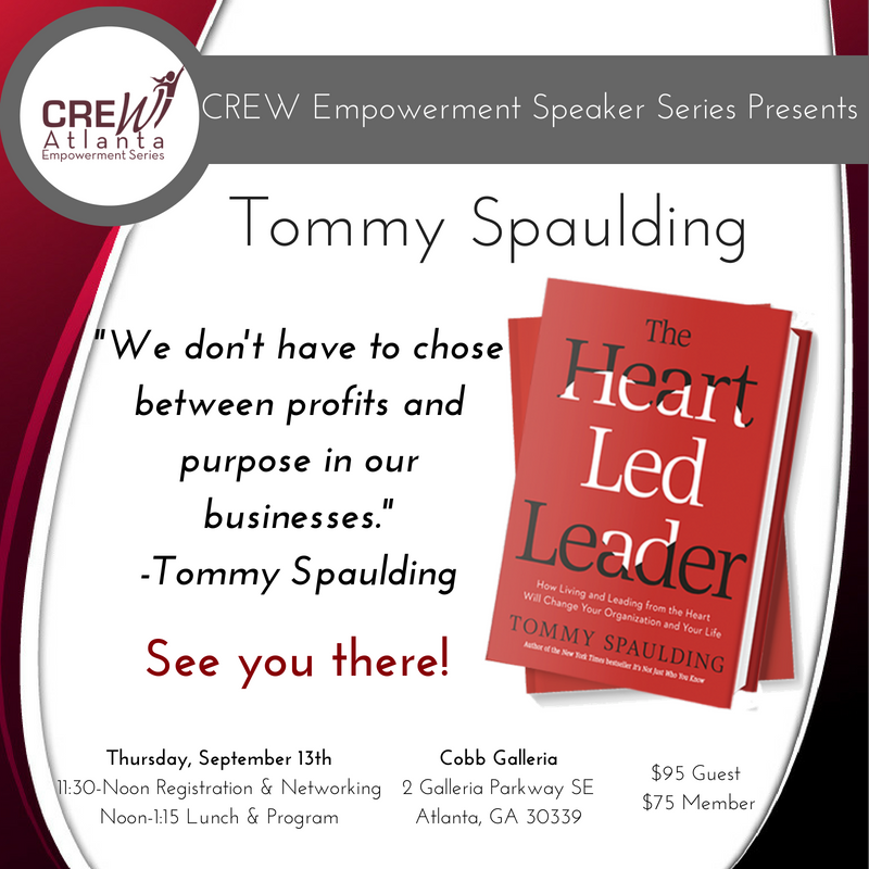 Crewatlanta On Twitter Come Hear Tommy Spaulding Explain How