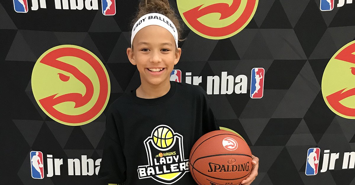 Our Lady Ballers Program is international with this camper coming all the way from Belgium to participate!  Join the Lady Ballers Program here: https://t.co/HsSbplTv2H