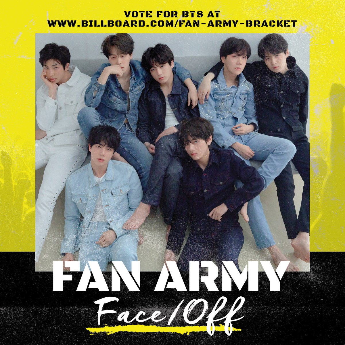 Will it be the #ARMY or Post Malone? Vote in the #FanArmyFaceOff here: https://t.co/FRh46LTgPX