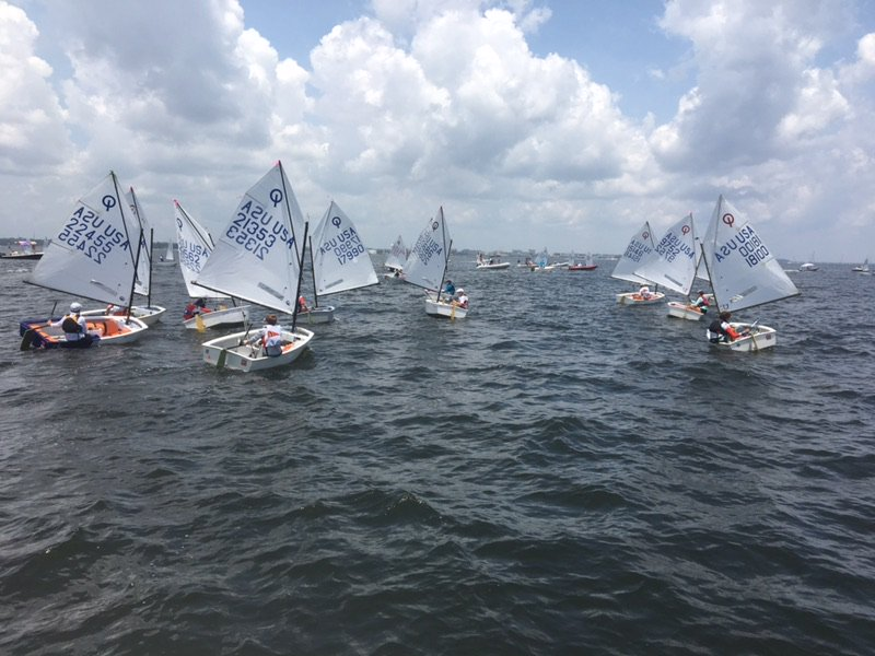 Take a look at 2018 Optimist National Championship hosted by the #Pensacola Yacht Club - via @WEARJASONROBBI #Sailing #NWFL #UpofFlorida  https://t.co/qdtHsQOK6e