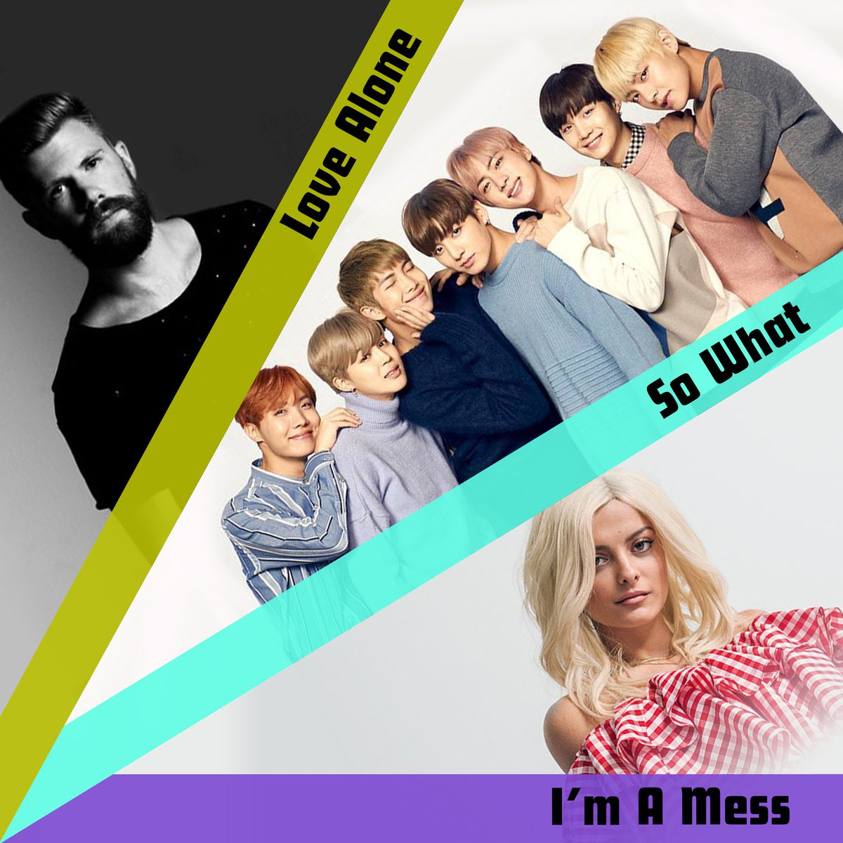 We have some amazing new songs now playing on Radio Disney! @thisismokita #LoveAlone 🎶 @BTS_twt @bts_bighit #SoWhat 🎶 @BebeRexha #ImAMess