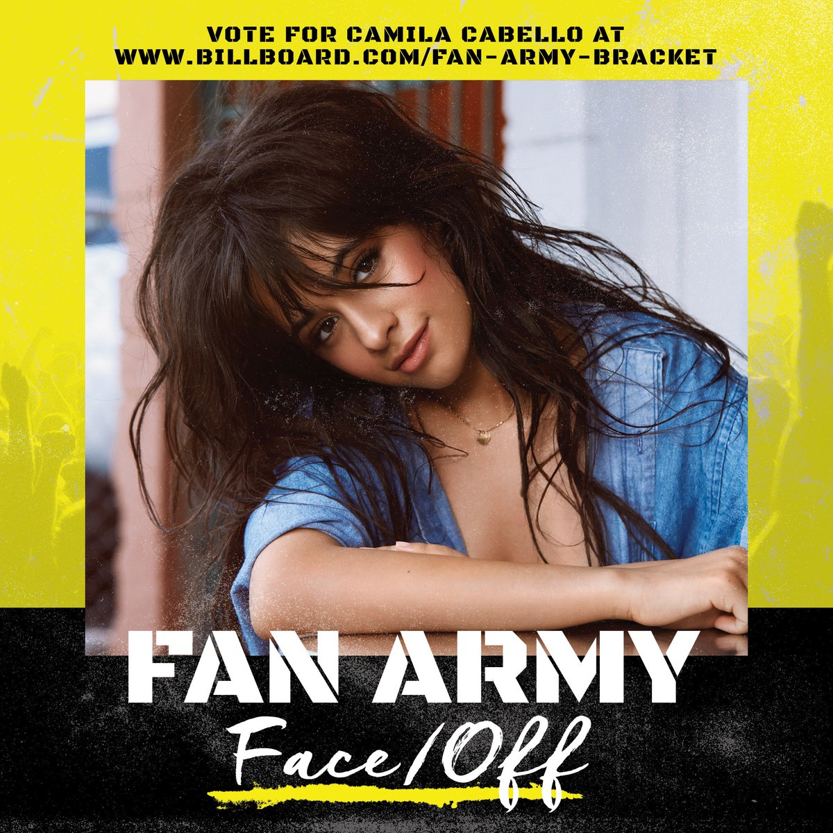 It's the #Camilizers vs #LittleSailors! Vote in the #FanArmyFaceOff here: https://t.co/FRh46LTgPX