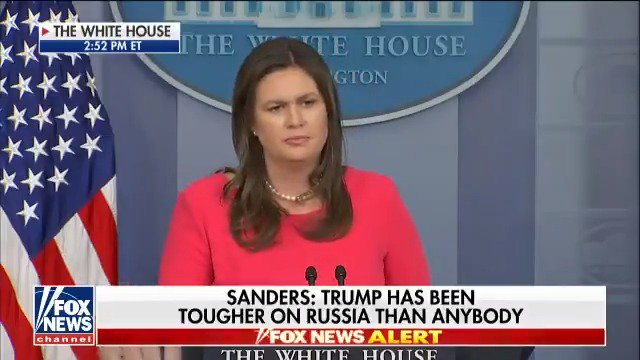 "Image for the Tweet beginning: .@PressSec: ""[@POTUS] has been extremely"