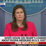 "Image for the Tweet beginning: .@PressSec: ""I think by stating"