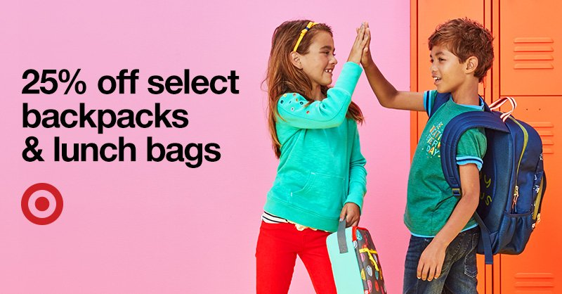 Mst 15 Get Carried Away Select Backpacks And Lunch Bags Are 25 Off