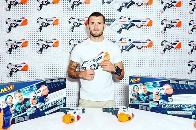 Excited to have been part of the UK launch of #NerfLaserOps today with @Hasbro !🏆#stayedtuned  @DaveBenettparties  #ad#gettyentertainment