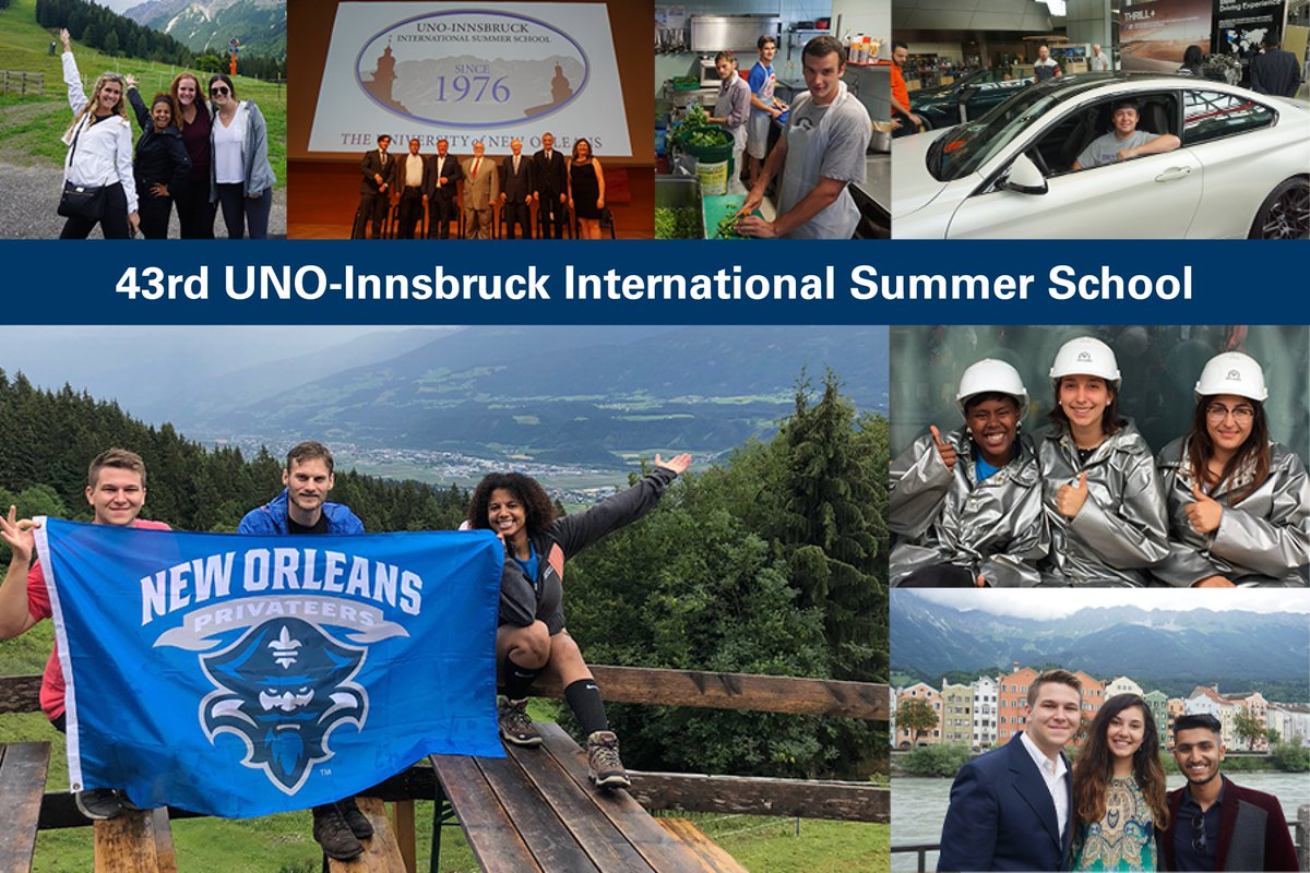 U Of New Orleans On Twitter Privateer Greetings From Austria