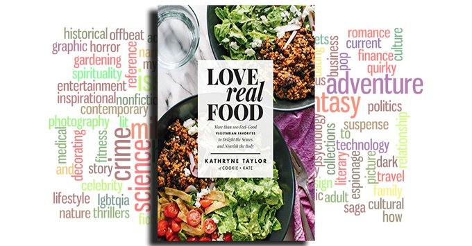 See the highly-rated eBook Love Real Food: More Than 100 Feel-Good Vegetarian  by Kathryne Taylor #read2eat Foto