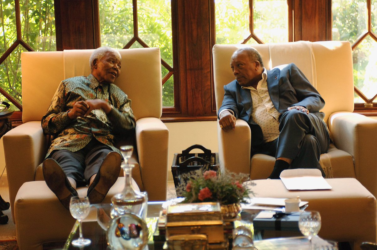 1 of the most profound honors I've had was to be able to call Mandela my friend/brother. On what would've been his 100th bday I hope were reminded of not only his legacy, but how we can further the mission that he set to accomplish. ❤️ compassion & hope for all. Miss U always