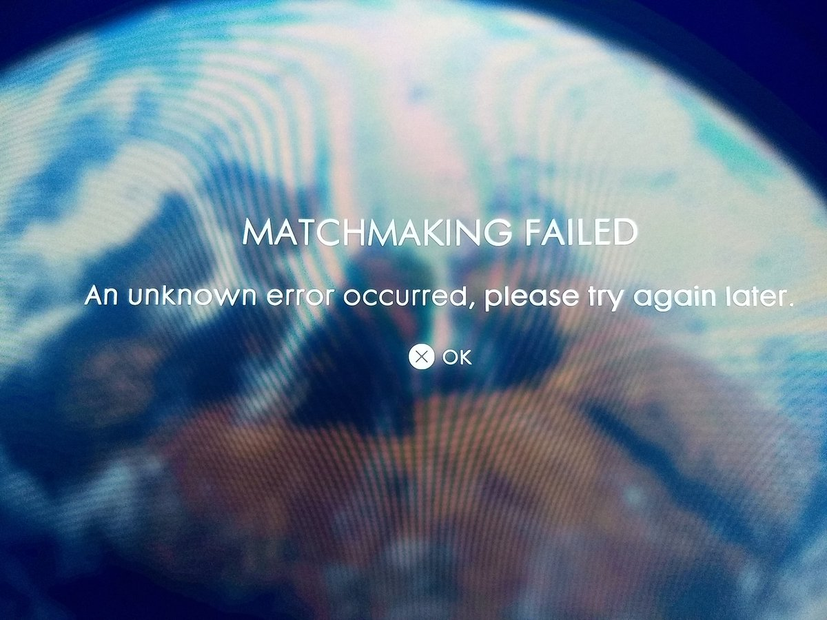 bf1 matchmaking failed