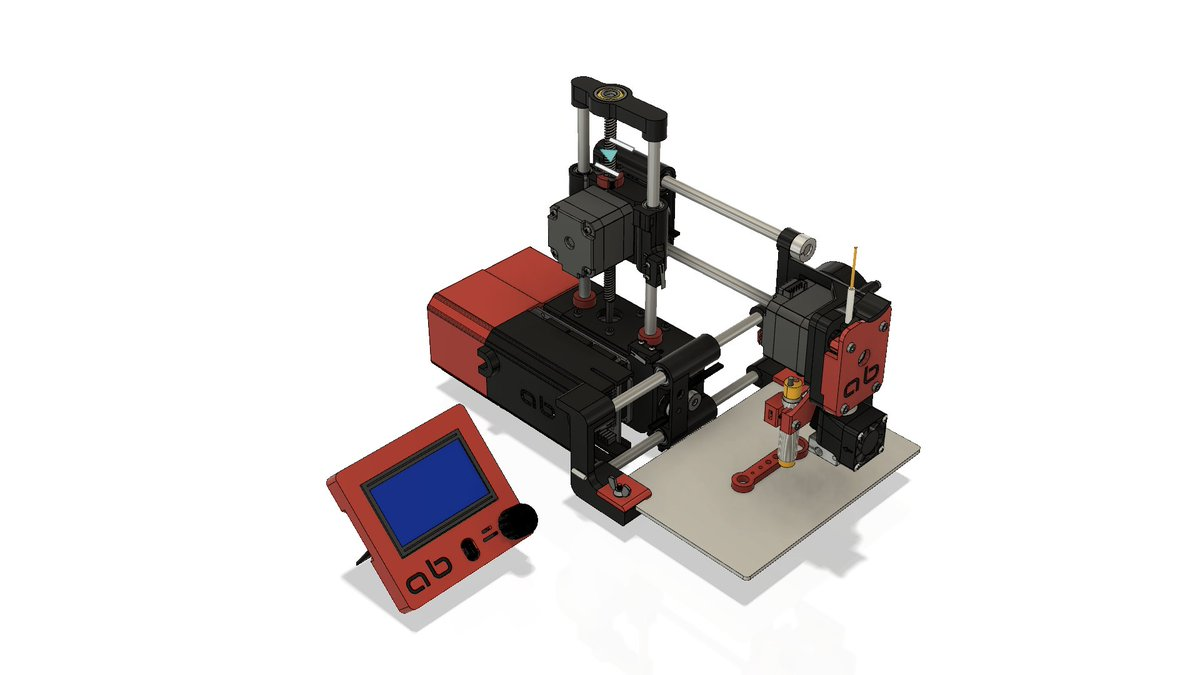 will always love @printrbot and especially brook for giving us the #adoptabot #3...