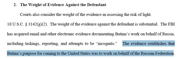 29 year old Russian woman pleads not guilty to covert election activity in the US https://t.co/emHyA74N37