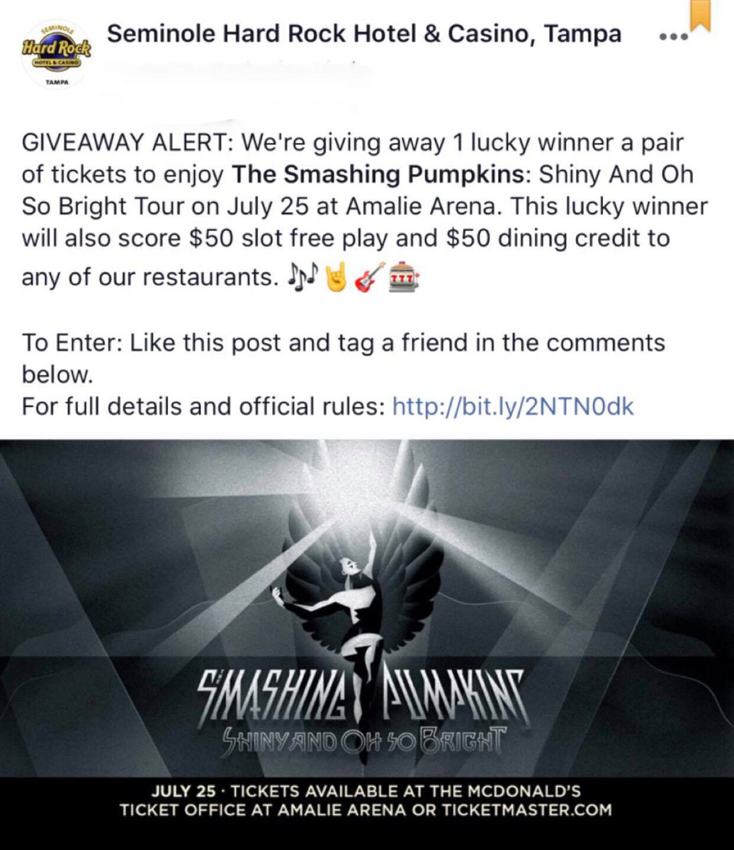 Free concert tickets 2018 giveaways