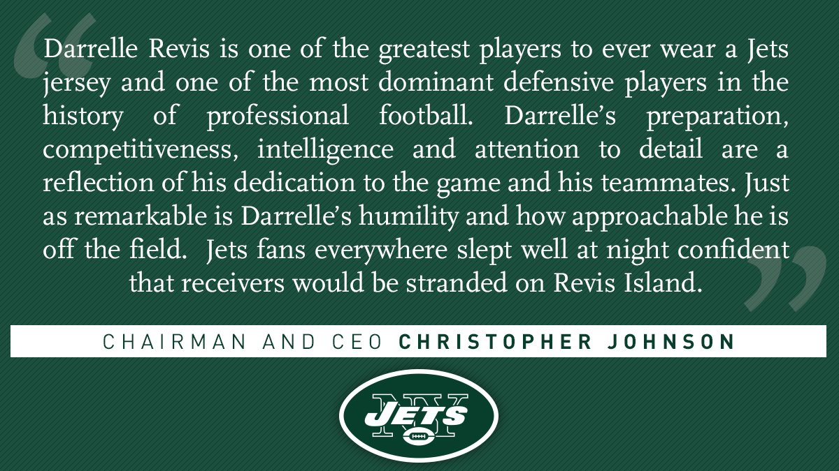 The Jets weigh in...