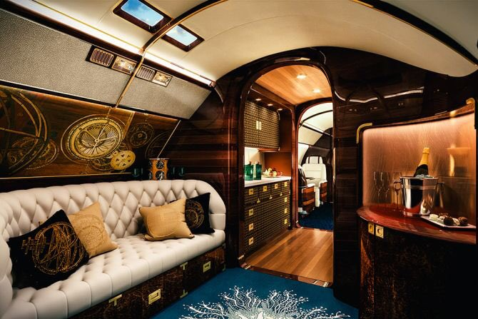 The luxury of private air travel, spacious, sumptuous and indulgent. Made all the more special aboard Skyacht One, which brings the luxury of an oceangoing yacht to private jet travel. #luxurylifestyle #privatejet #skyyacht #eatlovesavor