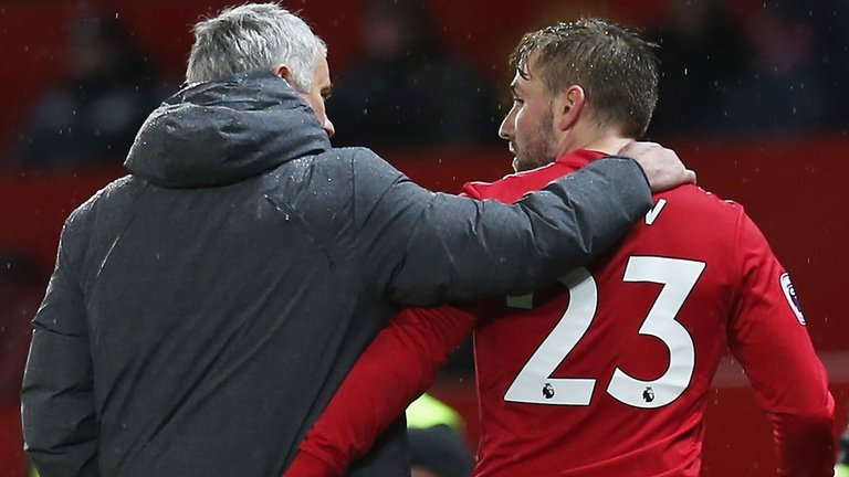 🗣 When everyone comes back, I still want to be the first name on the team-sheet. Luke Shaw is determined to prove his worth to Manchester United boss Jose Mourinho this season. 👉 skysports.tv/AX6fEp