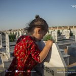 Kobani is preparing for the sixth anniversary of the revolution in #Rojava. People gathered today in Martyr Dicle cemetery to commemorate the fallen fighters who led the way to the liberation of #Kurdish territory on July 19th, 2012.