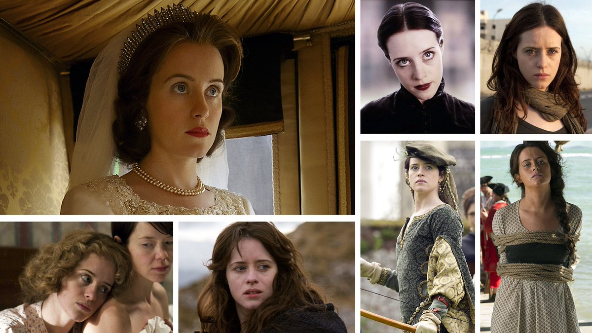 Claire Foy played many TV roles before @TheCrownNetflix.  When did you first see her?  #Emmys #Emmys70