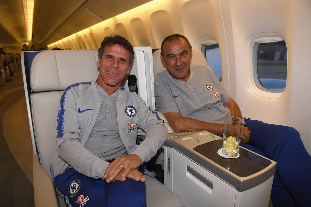 Once a Blue, always a Blue! 💙  Gianfranco Zola will join Maurizio Sarri's backroom team as Assistant first team coach! Welcome home, Gianfranco!  More 👉 https://t.co/TUIbZS3lJo