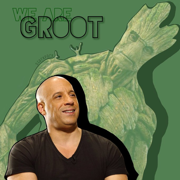 I am GrooOot! -> Happy birthday Vin Diesel!
