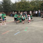 It was lovely to see lots of our families actively taking part in our sports afternoon today lots of fun and competitive spirit 🏸🏀⚽️🥅