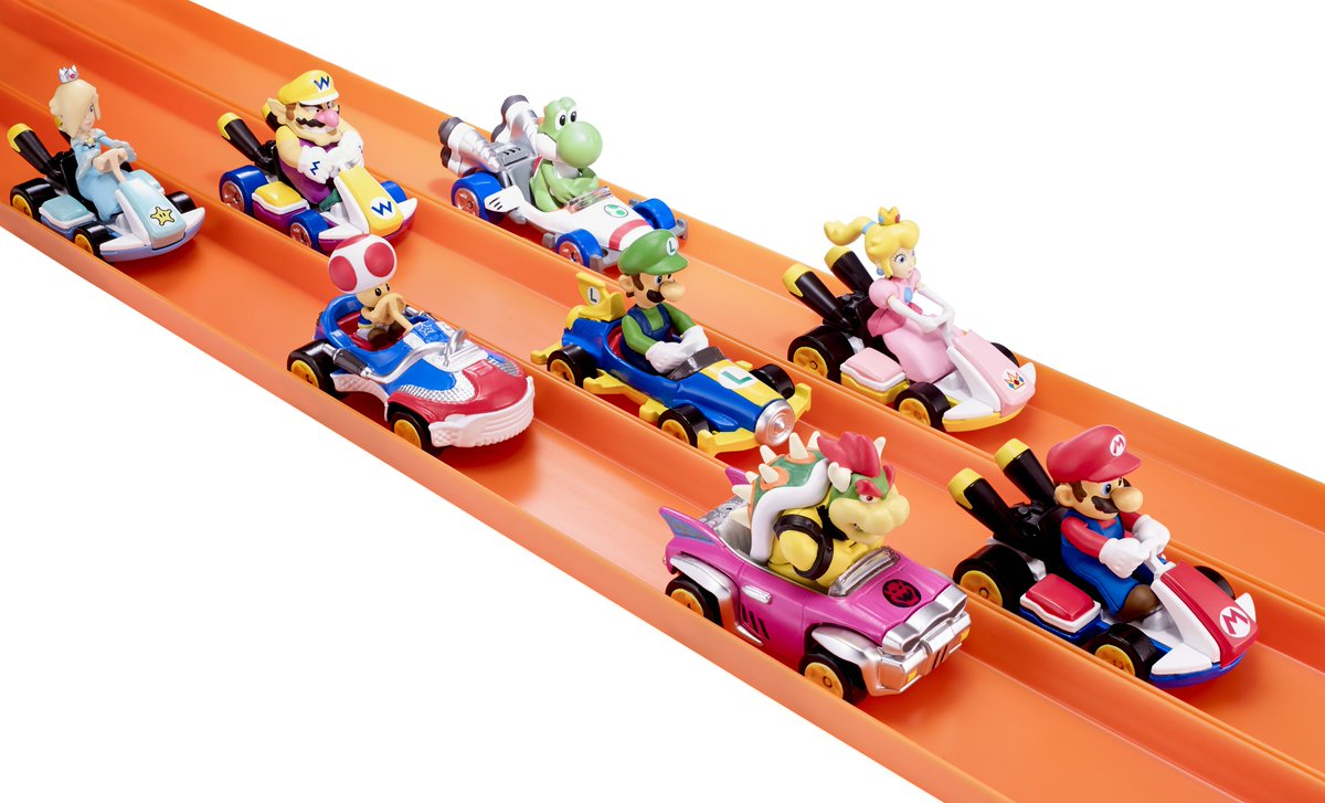 Nintendo Everything On Twitter Mario Kart Hot Wheels Toys