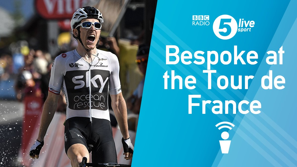 What a stage 👏  Reaction from La Rosiere as @GeraintThomas86 claimed the yellow jersey.  📲🚵‍♂️ https://t.co/1LRKg9Jc4A #TDF2018