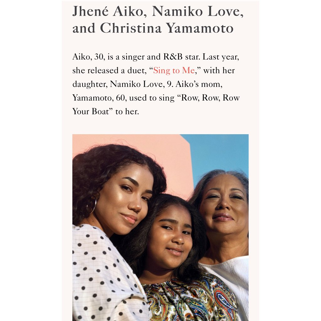 "thank you for having me, my mother and daughter for your ""good issue"" @Allure_magazine 😘❤️😍#strongANDnice #strongANDgood 💁🏻‍♀️"